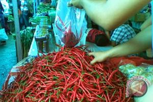 Harga cabai merah dan sayuran mulai naik