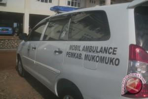 Mukomuko siagakan lima mobil ambulans di Jalinsum