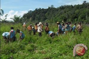 Pelajar tanam 1.500 pohon di TWA Seblat