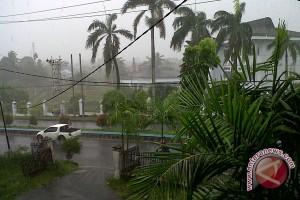 BMKG Bengkulu rilis peringatan dini hujan lebat