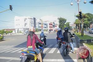 Polisi Tilang Puluhan Pelanggar Lalu Lintas Saat Lebaran