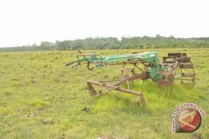 Petani batal bersawah akibat pembangunan irigasi molor