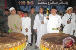 100 dol meriahkan malam takbir di Bengkulu