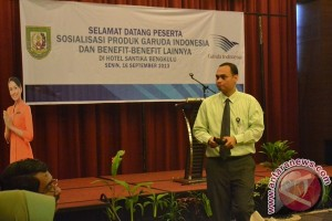 Sosialisasi produk Garuda Indonesia