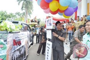 Pawai HUT ke-45 Provinsi Bengkulu