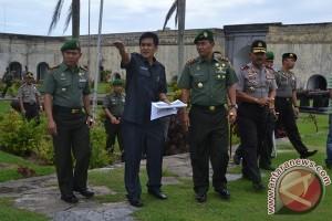 Pangdam II Sriwijaya Kunjungi Benteng Malborough