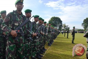 Presiden: satu brigade TNI dikerahkan ke Riau