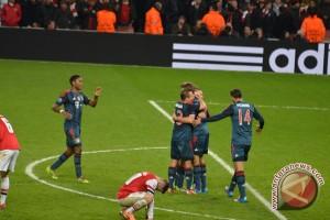 Arsenal kembali bertemu Bayern di 16 besar Liga Champions