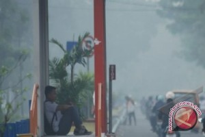 Asap kiriman dari Riau selimuti Bengkulu