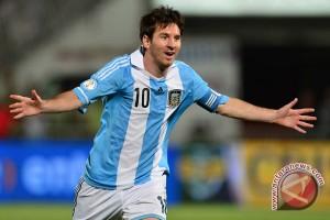 Messi cedera saat Argentina kalahkan Honduras