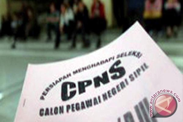 314 peserta tes CPNS tidak ambil nomor