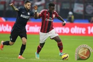 """""""Derby"""" Milan berakhir imbang 1-1"""