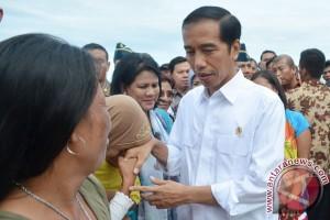 Presiden Jokowi Berkurban Sapi Untuk Warga Bengkulu