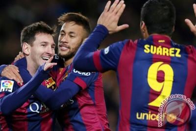 Barca taklukkan Munchen 3-0 pada leg pertama Liga Champions