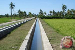 Mukomuko bangun irigasi untuk 2.000 hektare sawah