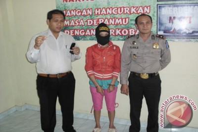 Polisi amankan perempuan membawa narkoba