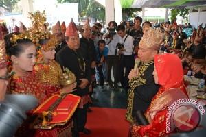 Pembukaan Festival Seni Budaya Rejang Meriah