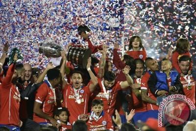 Chile kalahkan Argentina untuk juarai Piala Amerika