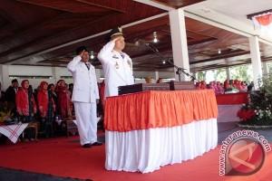 Peringatan detik-detik proklamasi di Rejanglebong khidmat