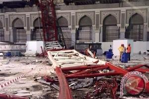 Jamaah Bengkulu korban 'crane' Mekkah lanjutkan ibadah