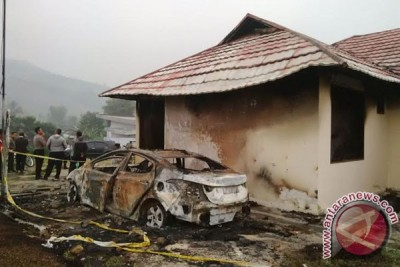 Polisi Bengkulu cari dalang pembakar kantor Polsek