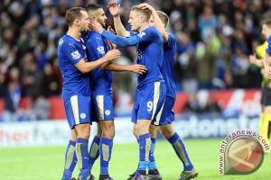 Mahrez teken kontrak baru dengan Leicester City
