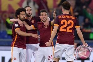 Roma tersingkir dengan sembilan pemain di Liga Champions