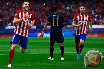 Niguez bawa Atletico taklukkan Bayern