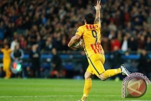 Dua gol Suarez bawa Barca kalahkan Atletico
