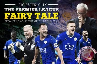Bermain ngotot Chelsea atas Spurs membuat Leicester resmi juara