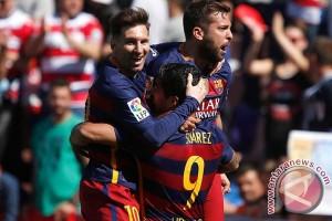 Barca pertahankan gelar juara Piala Raja