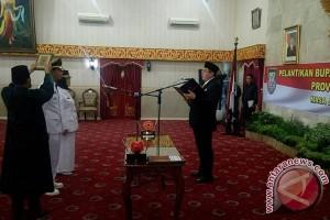 Gubernur Bengkulu lantik Bupati Kaur