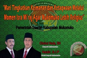 Isra Miraj Pemkab Mukomuko