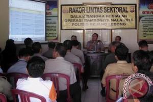 Operasi Ramadniya Rejanglebong libatkan 110 personil