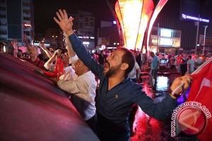 Gagalnya kudeta Turki bukti rakyat mencitai pemimpin