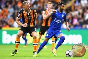 Juara bertahan Leicester ditundukkan Hull City 2-1