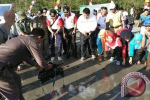 BKSDA Bengkulu lepasliarkan 210 penyu lekang