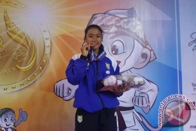 Karateka Bengkulu sumbang medali perunggu