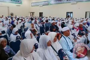Alhamdulillah, 453 jamaah haji tiba di Bengkulu