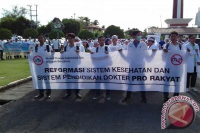 IDI Bengkulu unjuk rasa tolak DLP