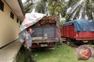 Polisi Mukomuko limpahkan kasus penyeludupan kayu ilegal