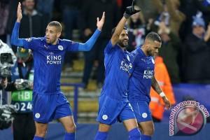 Leicester pertahankan rekor sempurna di grup G
