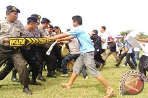 Kepolisian Bengkulu gelar simulasi penanganan kerusuhan Pilkada