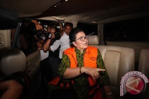 KPK resmi tahan mantan Menkes Siti Fadilah