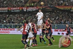 Milan takluk 0-3 di markas Genoa