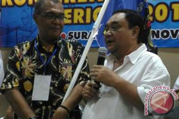 Akhmad Munir, Ka Biro Antara yang kembali terpilih Ketua PWI Jatim