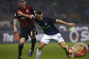 Inter bermain imbang 2-2 dengan Milan