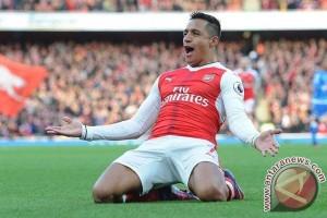 Dua gol Sanchez untuk Arsenal akhiri kegigihan Bournemouth
