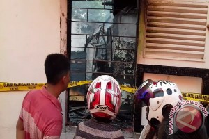 Kebakaran Hebat Hanguskan Ruko di Bengkulu