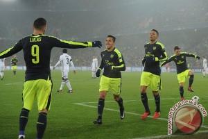 Trigol Lucas di Basel amankan tiket Arsenal